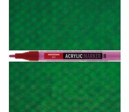 Amsterdam paintmarker 619 1-2mm rond permanentgroen donker