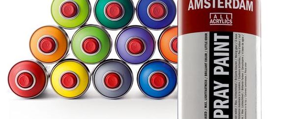 Amsterdam spray paint: dream en create, creativiteit zit in iedereen!
