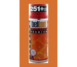 Molotow Premium spray paint 200 bus à 400ml orange brown middle