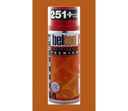 Molotow Premium spray paint 201 bus à 400ml orange brown