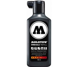 Molotow one4all refill 180 180ml signal black
