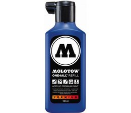Molotow one4all refill 204 180ml true blue