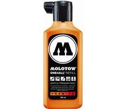 Molotow one4all refill 218 180ml neon orange fluor