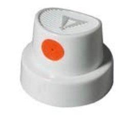 Molotow cap silent fat white/orange middle