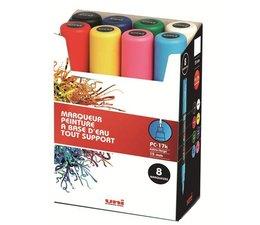Uni-Posca paintmarkerset PC17K/8