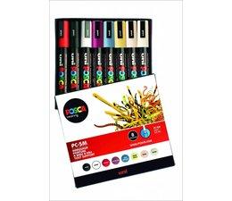Uni-Posca paintmarkerset PC5M 8 stuks
