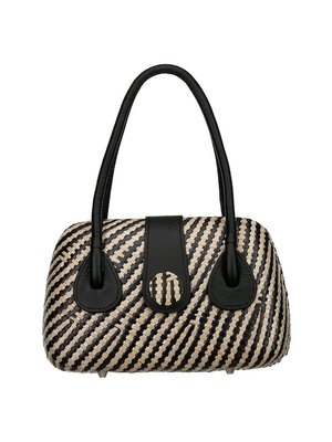 Lanero Bag Stripe Black
