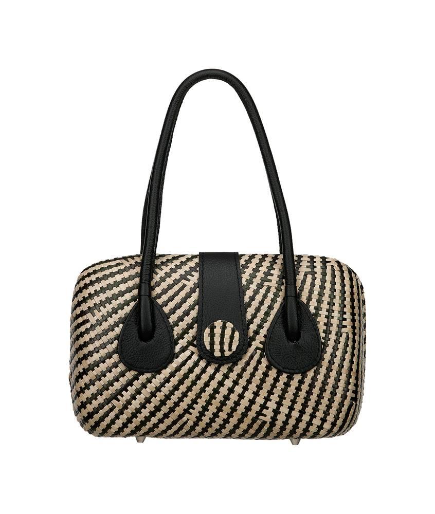 Mabini Bag Stripe Black