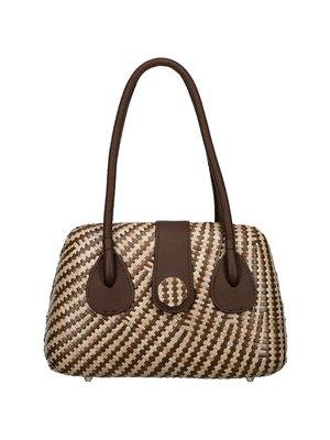 Lanero Bag Stripe Brown