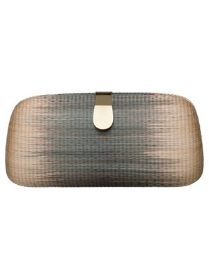 Bella Clutch Green Flamed