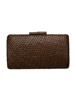 Crisel Clutch Brown