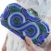 Rowena Clutch Blue
