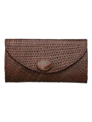 Yanna Clutch Brown