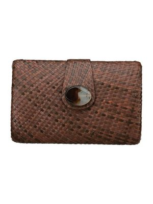 Maganda Clutch Brown Pearl