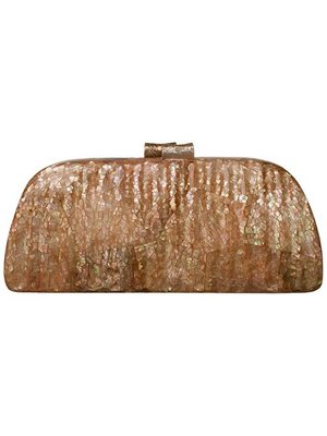 Alyssa Clutch Brown