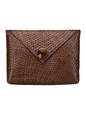 Krisha Clutch Brown
