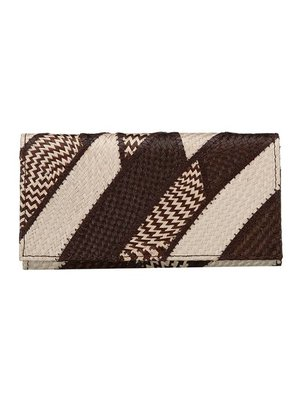 Dahon Wallet Banded Brown Cream