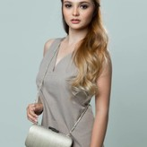 Chona Clutch Brown