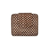 Marites Clutch Brown Cream