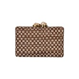 Deohala Clutch Brown Cream