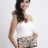 Linoya Clutch Brownlip