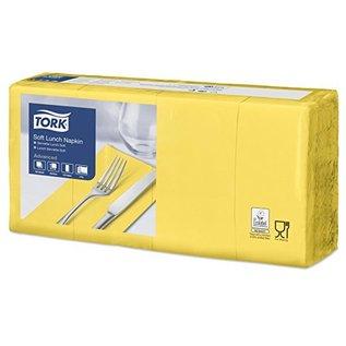 Tork Tork Soft Lunchservet 33x33cm 3-laags 1/8-vouw 10x150 geel