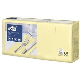 Tork Tork Soft Lunchservet 33x33cm 3-laags 1/8-vouw 10x150 champagne