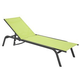 Lesli Sun Lounger Lime
