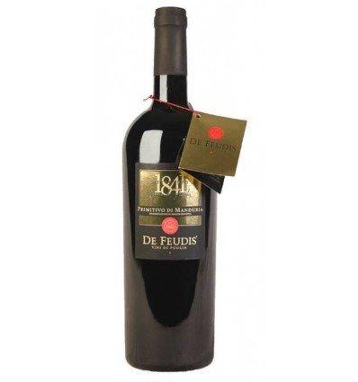 De Feudis Ottocento Primitivo di Manduria, 2014, Puglia, Itali�, Rode wijn