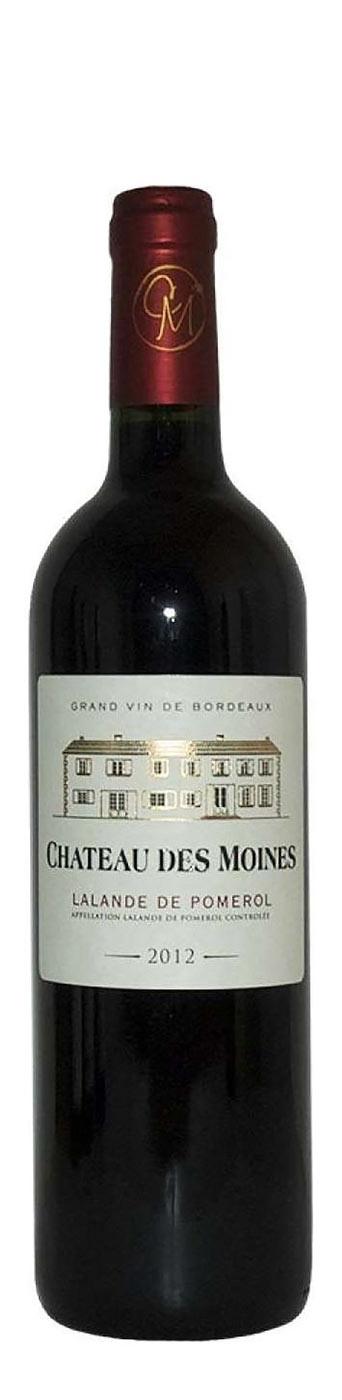 Chateau des Moines Lalande de Pomerol, 2016, 375 ml, Bordeaux, Frankrijk