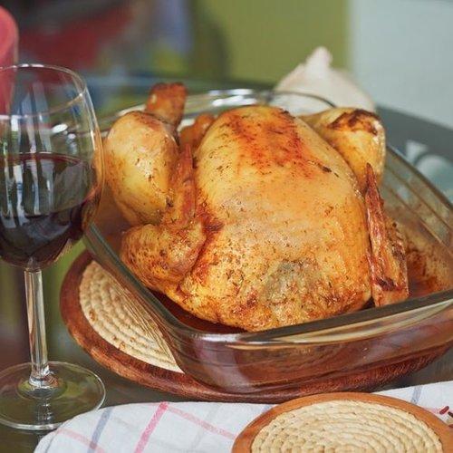Wijn bij kip