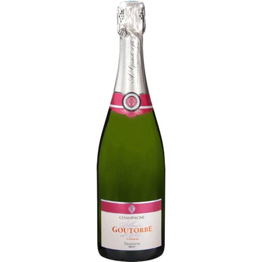 André Goutorbe, Brut Tradition 3 liter, Champagne, Frankrijk, Mousserende Wijn