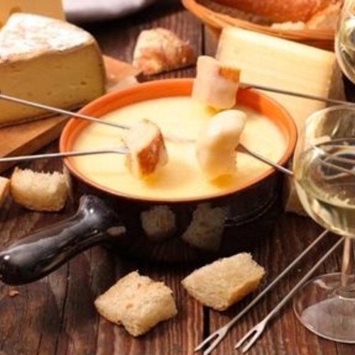 Wijn bij kaasfondue