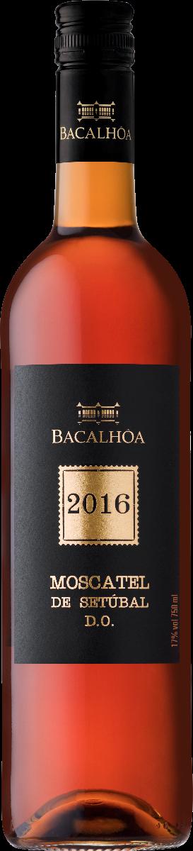 Quinta do Bacalhoa Moscatel Colheita, 2016, Setubal, Protugal, Versterke wijn