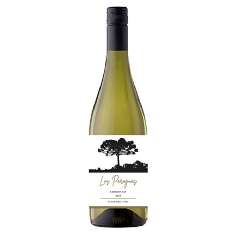 Los Paraguas Chardonnay, 2018, Central Valley, Chili, Witte wijn