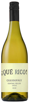 !Que Rico! !Que Rico! Chardonnay, 2020, Central Valley, Chili, Witte wijn