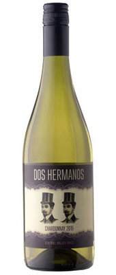 Dos Hermanos Chardonnay, 2018, Central Valley, Chili, Witte wijn
