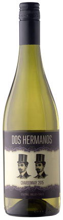 Dos Hermanos Dos Hermanos Chardonnay, 2018, Central Valley, Chili, Witte wijn