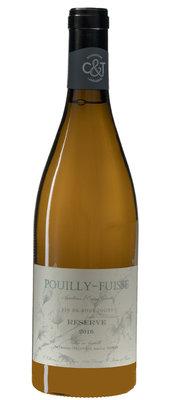 Pouilly Fuissé Réserve, 2018, Bourgogne, Frankrijk, Witte Wijn