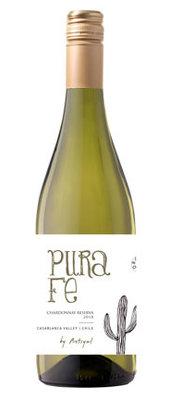 Pura Fe Chardonnay Reserva, 2018, Casablanca Valley, Chili, Witte wijn