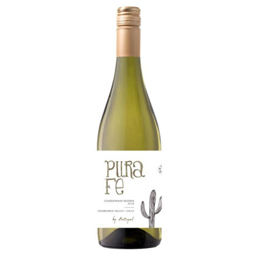 Antiyal, Pura Fe Chardonnay Reserva, 2018, Casablanca Valley, Chili, Witte wijn