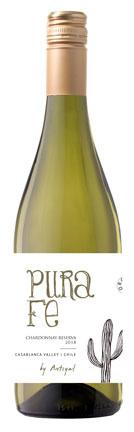 Antiyal Pura Fe Chardonnay Reserva, 2018, Casablanca Valley, Chili, Witte wijn