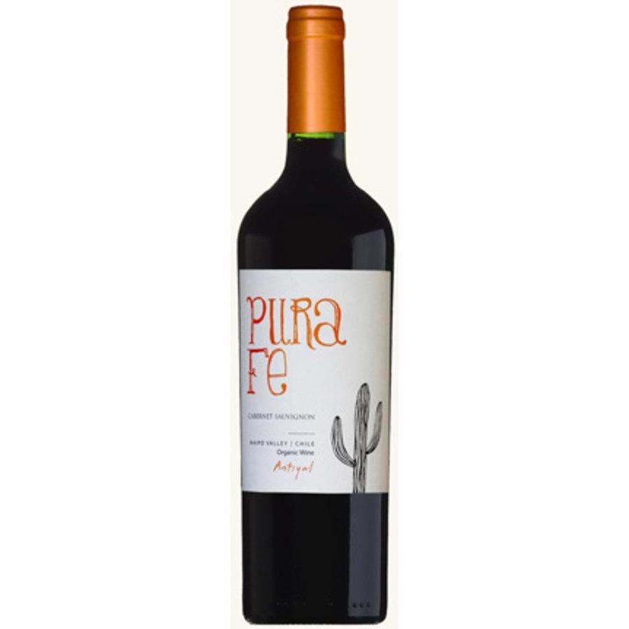 Antiyal, Pura Fe Cabernet Sauvignon, 2015, Maipo Valley, Chili, Rode wijn