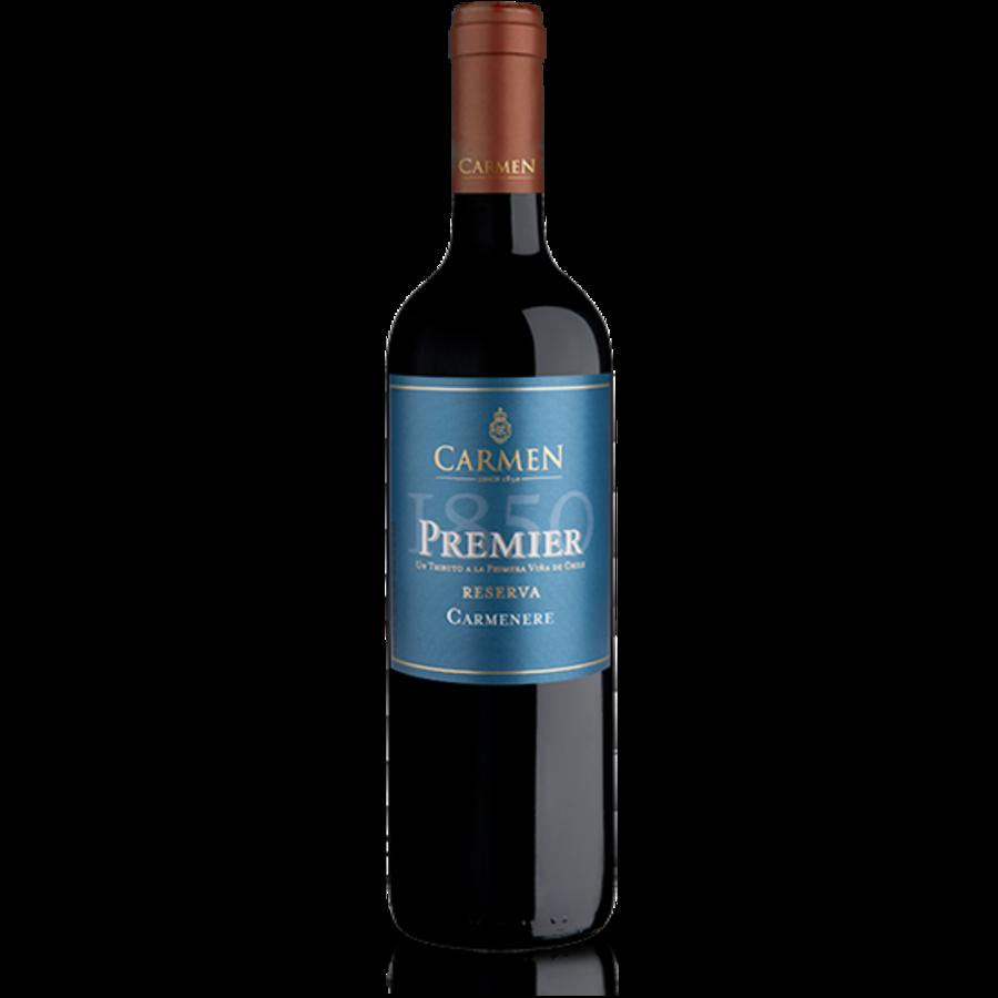Carmen, Premier 1850 Carmenère, 2018, Chili, Rode wijn