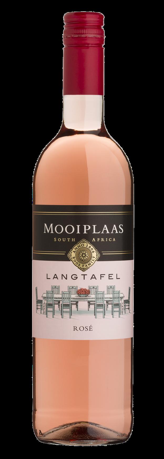 Mooiplaas Wine Estate Langtafel Pinotage, 2019, Stellenbosch, Zuid-Afrika, Roséwijn