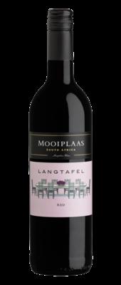 Langtafel Cabernet Sauvignon-Shiraz, 2018, Stellenbosch, Zuid-Afrika, Rode wijn