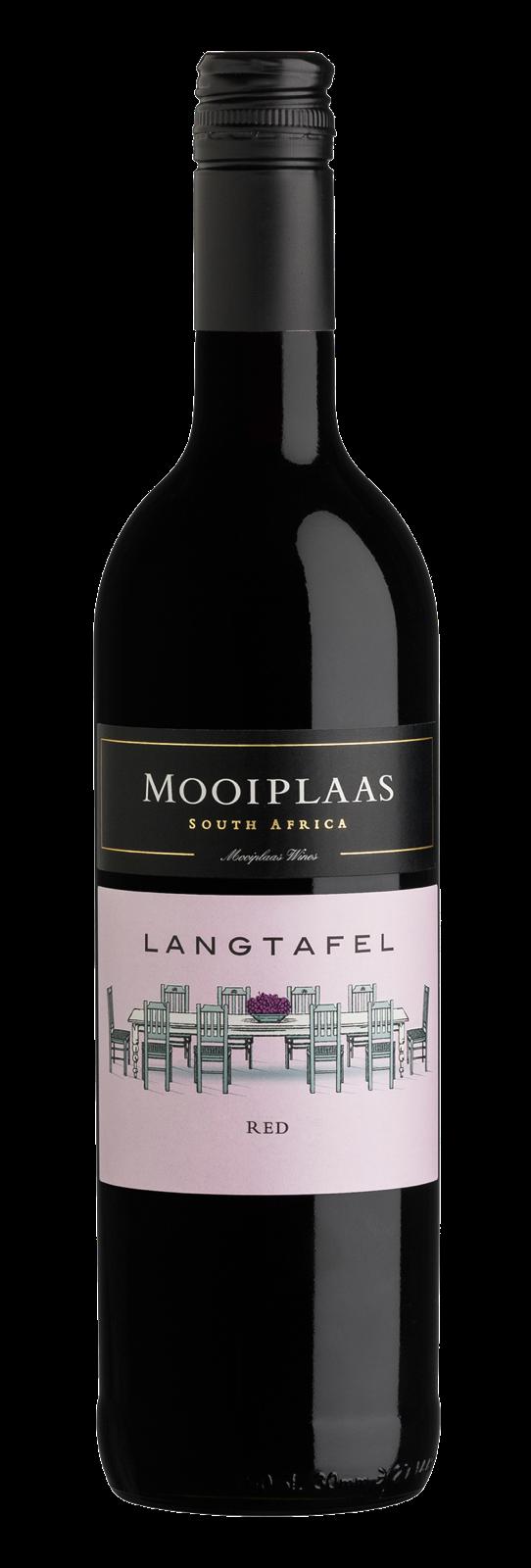 Mooiplaas Wine Estate Langtafel Cabernet Sauvignon-Shiraz, 2019, Stellenbosch, Zuid-Afrika, Rode wij
