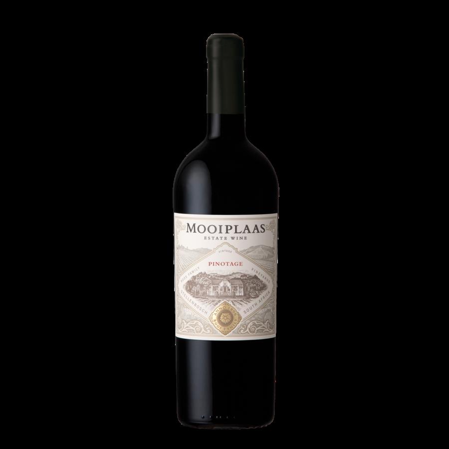 Mooiplaas Wine Estate Pinotage2018,  Stellenbosch, Zuid-Afrika, Rode wijn