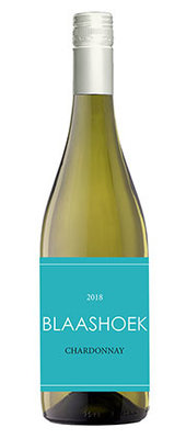 Chardonnay, 2019, Western Cape, Zuid-Afrika, Witte wijn