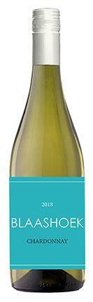 Blaashoek Chardonnay, 2019, Western Cape, Zuid-Afrika, Witte wijn